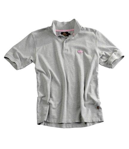Alpha Industries Classic Polo Poloshirt Black Grey