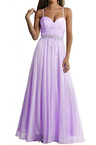 Toscane mariée bezaubernd 2–support chiffon abendkleider ballkleider main pendant les fêtes demoiselle dhonneur Violet - Lilas