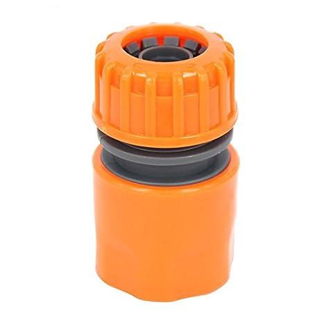 Lugii Cube Jardin d'eau d'arrosage plastique adaptateur connecteur raccords rapide Conversion Joint 1/2