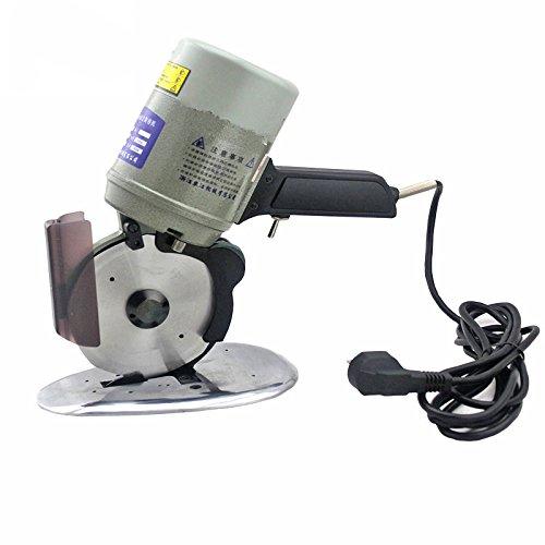 CGOLDENWALL YJ-125A Elektrische Stoffschneider Achteckige Stoffschneidemaschine Elektrische Schere für Textil Wildleder Papier Mit Schärfvorrichtung & Klingendurchmesser 125mm220V