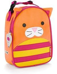 Skip Hop Zoo Lunchies - Bolsa térmica, diseño cat, color naranja