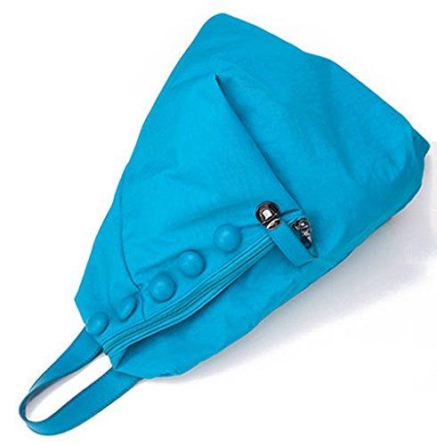 Longzibog Dual verstellbare Schultergurte und Hängeschlaufenband 2016 Neue Maedchen Rucksack Schulranzen Lila