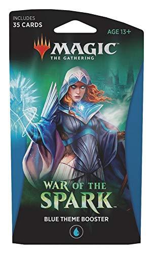 Magic The Gathering - War of The Spark - Themen-Booster | Auswahl | ENGLISCH, Booster:Blau (Card Wars-karte-spiel)