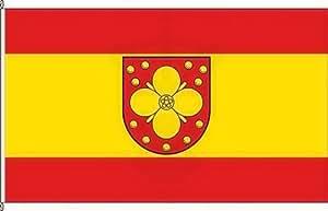 Königsbanner Autoflagge Uckerland - 30 x 45cm - Flagge und Fahne