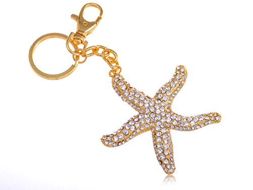 tono-de-oro-y-brillantes-decorativos-pacific-coast-ocean-gancho-llavero-con-muneca-de-estrella-de-ma