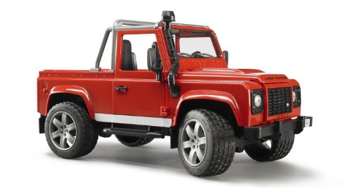 Image of Bruder Land Rover Defender Pick Up Car