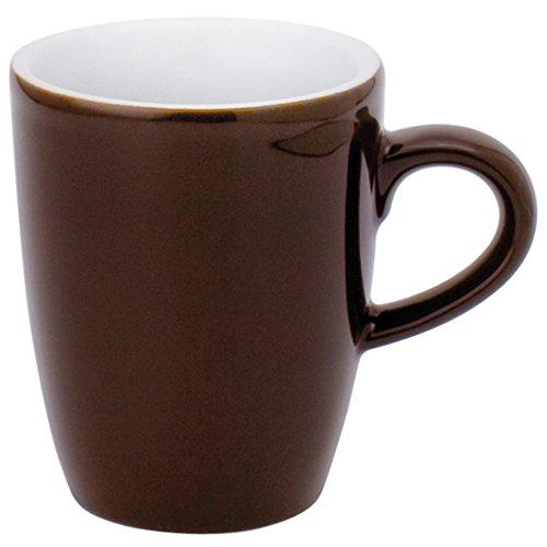 Kahla Pronto Colore Espressotasse Hoch , Kaffee Tasse, Becher, Porzellan, Schokobraun, 100 ml,...