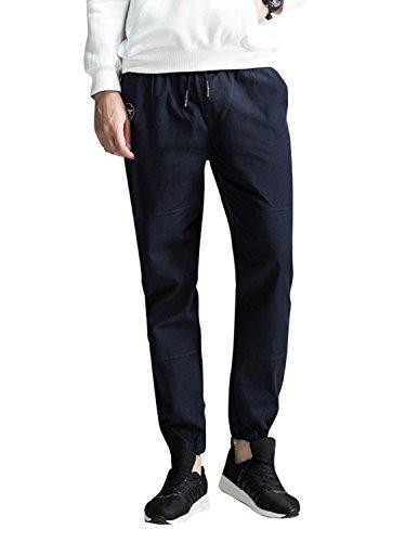 Boom Fashion Chino Hose Herren Sweatpants Sporthose Baggy Jogginghose Slim Trainingshose Cargo Pants