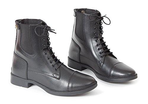 Shires, stivali allacciati anteriore–adulti Black