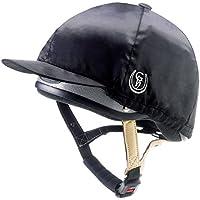 Gatehouse HS1 Silk - Forro para casco de hípica negro negro Talla:Medium 56-