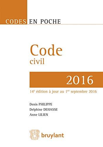 Code civil 2016