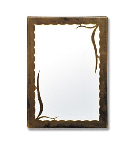 Espejo de forja Estepa - 6-Negro