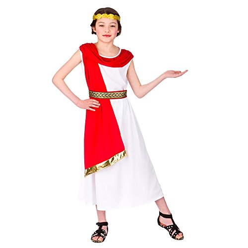 Alte römische Prinzessin Kostüm - 5/7 Jahre - ()