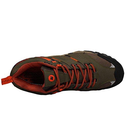 MatchLife Men's Multisport Outdoor Shoes Kaki-Style2
