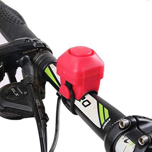Teabelle Mini Campana de Bicicleta Bell Timbre para Ciclismo de Seguridad MTB Manillar Eléctrico Cuerno...
