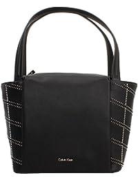 Shoppers y bolsos de hombro para mujer, color Negro , marca CALVIN KLEIN, modelo Shoppers Y Bolsos De Hombro Para Mujer CALVIN KLEIN MISHA GRAPHIC MEDIUM Negro