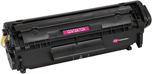 emium Toner kompatibel für HP Q2612A 12A Laserjet 1010 1012 1015 1018 1020 1022 1022n 1022nw 3010 3015 3020 3030 3050 3052 3055 M1005 M1319f MFP | 2.000 Seiten ()