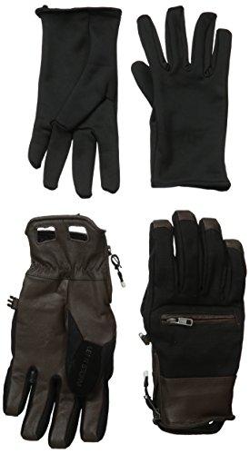 guantes-snow-volcom-life-it-storm-glove-negro-marron-talla-m