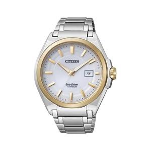 Citizen Super Titanium BM6935-53A – Reloj analógico de Cuarzo para