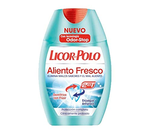 Licor Polo - Dentífrico Enjuague Aliento Fresco
