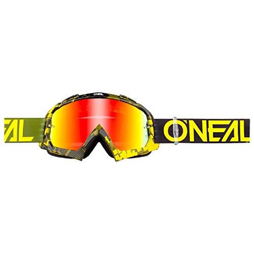 O'neal B10 Pixel Goggle Goggle MX DH Brille gelb/grün/radium Oneal