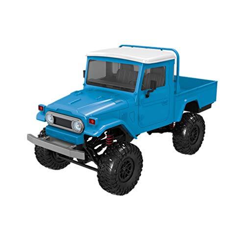 NIUQY Sonderverkauf Mode Luxus Front-LED- 1:12 4WD RC Auto Off-Road-Militär-Rock Crawler Truck Charakteristisch Intelligentes Gerät Geschenk (Militär-auto-magneten)