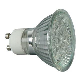 Low Energy LED Light Bulb, GU10 Light Bulb, LED Bulb Warm White 18 LED 30,000 Hours Life