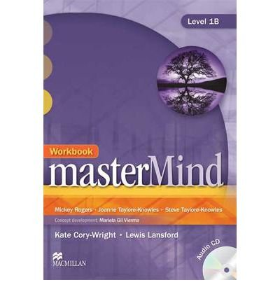 MasterMind 1 Workbook & CD B (Mixed media product) - Common