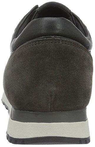 Geox Herren U Emildon B Low-Top Grau (BLACK/DK GREYC0005)