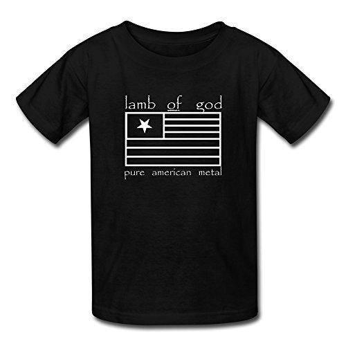 Kid's Funny Lamb Of God Logo T-shirts