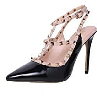 ELEHOT Donna Elequite tacco a spillo 10CM Synthetic (Scarpe Snakeskin Mens)