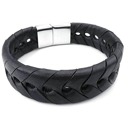 AmDxD Homme Tampon non métallique - Industrie de la mode uniquement Acier inoxydable|#Stainless Steel FASHIONNECKLACEBRACELETANKLET