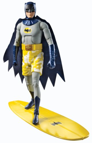 DC 66 Batman Classic Series TV 6 pulgadas Surfing Batman figura de acción