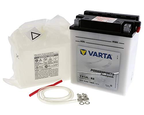 Batterie VARTA Powersports Freshpack YB14L-B2 / CB14L-B2 für LS 650 Savage, S40 650ccm 86-08 [ inkl.7.50 EUR Batteriepfand ]