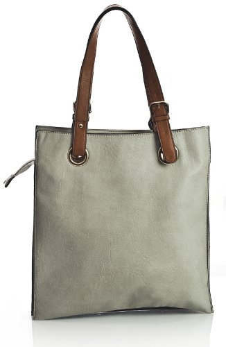 Big Handbag Shop , Damen Tote-Tasche One weiß
