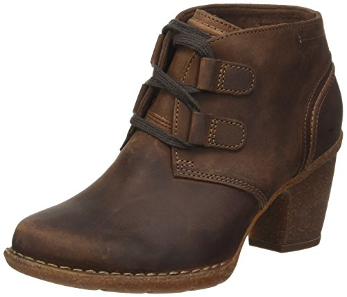 Clarks Damen Carleta Lyon Stiefel, Braun (Brown Nubuck), 38 EU (Clarks Schuhe Damen)