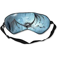 Eye Mask Eyeshade Bats Picture Sleeping Mask Blindfold Eyepatch Adjustable Head Strap preisvergleich bei billige-tabletten.eu
