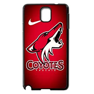 JIUBIE Design-12 Print Case With Hard Shell Cover for Samsung Galaxy Note 3 Sports NHL Phoenix Coyotes Logo