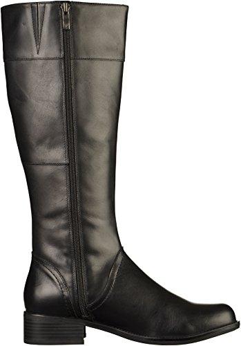 Caprice 25511, Stivali Donna, Braun (Ebony Leather), 37 EU Nero (3)