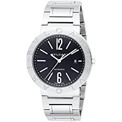 BVLGARI Auto Black Men Watch BB42BSSD