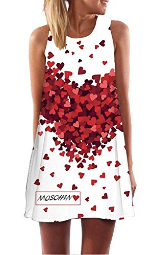 Minetom Mujer Mini Vestido Moda Atractiva Dress...