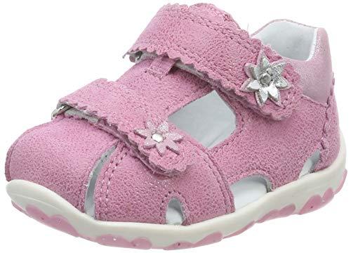 Superfit Baby Mädchen Fanni Sandalen, Pink (Rosa/Metallic 55), 21 EU