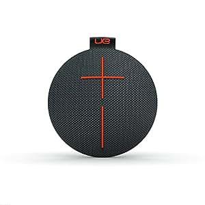 Enceinte Bluetooth ultra-portable UE ROLL - Étanche, Résistante aux Chocs – Charbon/Noir/Orange
