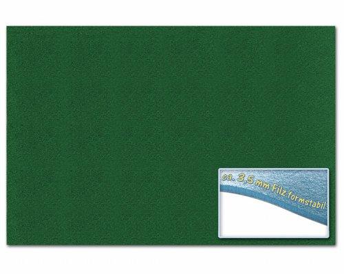 folia 510358 - Bastelfilz 30 x 45 cm, ca. 3,5 mm, 1 Bogen, tannengrün Preisvergleich