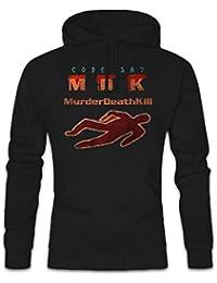 1504ccca556a Urban Backwoods Code 187 Pullover Hoodie Sweats à Capuche Sweat-Shirt –  Demolition MDK Murder