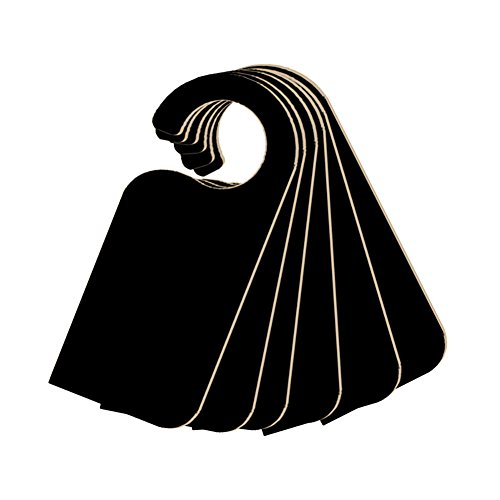 Hemore 19,8 * 8,3 * 0,3 cm Holz Handwerk kreative tür hängen doppelseitige kleine tafel 140114 Modelle 1 Satz (6) Halloween, Weihnachten, Thanksgiving Geschenke und Dekorationen (Hängen Handwerk Halloween Tür)