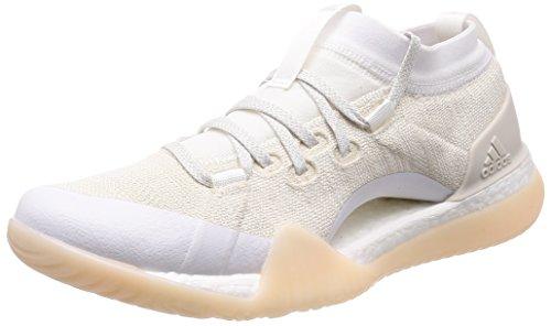 adidas Damen Pureboost X Tr 3.0 Fitnessschuhe Weiß (Footwear White/Chalk Pearl/Silver Metallic) 40 EU