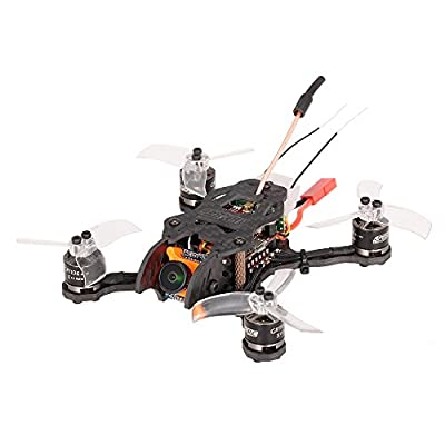 Goolsky GEPRC Hummingbird 200mW Brushless 110mm Mini Micro FPV Racing Quadcopter RC Drone BNF with FrSky Receiver