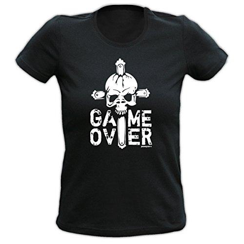 lustiges Halloween Damen Girl Shirt Kostüm Karneval Fasching Mädchen T-Shirt Geschenk Geburtstag Goodman Design
