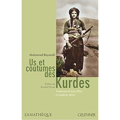 Us et coutumes des Kurdes